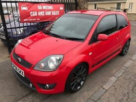 2006 (56) FORD FIESTA ST 2.0, 79000, 1 YEAR MOT, WARRANTY, NOT CLIO SRI GTI VXR SWIFT