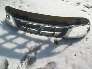 Ford Truck F150 Chrome Grille & Bug Deflector