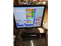 Till / EPOS systems for sale - touch screen , scanner , very fast system £390