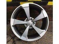 Audi 19 inch alloys for audi a6 a5 sline TTRS TTS SPORT set of four brand new S3 RS3 S4 RS4