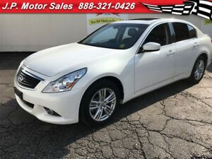 2013 Infiniti G37 X, Sport, Leather, Sunroof, AWD, 61,000km