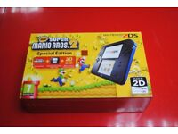 Nintendo 2DS Special Edition New Super Mario Bros 2 Brand New £80