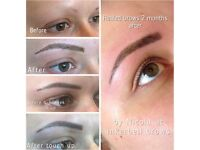 Semi Permanent Brows, Babyliner & lips