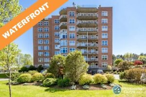 Enjoy the sunrise over Bedford Basin in this 2 bed/2 bath condo