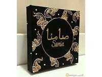 MEHNDI CANVASES FOR ALL EVENTS PARTIES BIRTHDAYS.....(PERSONALIZED)