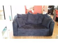 DARK BLUE SOFA BED- FOR SALE!
