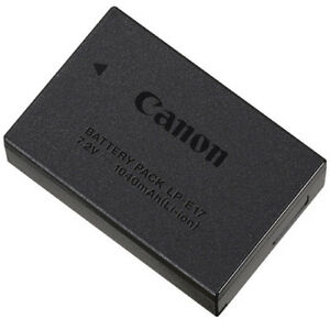 Canon Battery Pack LP-E17 (NEW)