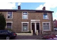 Darwen, Blackburn, Accrington, Chorley, Preston, Beautiful unfurn 2 bed house. D. glaz, C. Heating