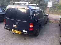 **FORD ESCORT VAN** RUNS AND DRIVES FINE. NEEDS MOT. Will pass easily. looking for quick sale! 2001