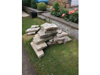 York Stone pieces of various sizes
