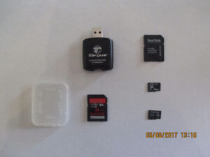 MICRO SD, SD CARD and ADAPTER