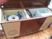 1960s Bush Radiogram Stereo Valve Amp