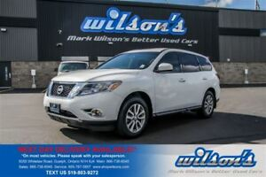 2014 Nissan Pathfinder 4WD! 7 PASSENGER! PUSH BUTTON START! BLUE