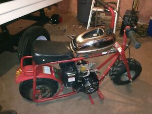 Baja bug minibike, 208cc engine, $450