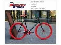 Brand new single speed fixed gear fixie bike/ road bike/ bicycles + 1year warranty & free service e6