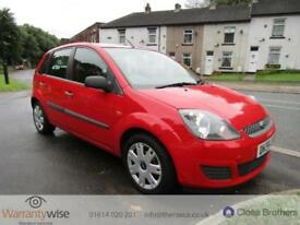 FORD FIESTA STYLE CLIMATE 16V, Red, Manual, Diesel, 2006 2 FORMER KEEPERS