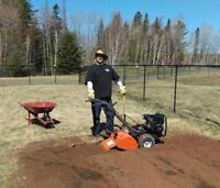 Tilling services for garden/flower beds. Now is the time