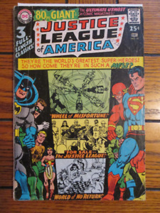 silver age Justice League of America #58