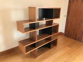 Wooden bookshelf shelf for office home furniture - free delivery