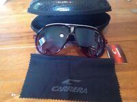 Carrera sunglasses brand new wine red colour