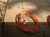 heavy duty welding cable in good condition various lengths for sale