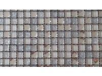 mosaic decorative 300x300 sheets of reflective mirror border.