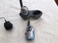 Binatone MR620 Walkie Talkies with Dual Charger Pod