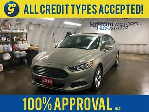 2016 Ford Fusion SE*POWER SUNROOF*BACK UP CAMERA*MICROSOFT SYNC*