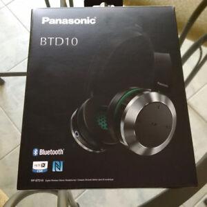 Écouteurs bluetooth Panasonic BTD10 neuf