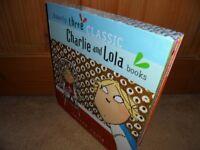 BOX SET OF 3 CHARLIE AND LOLA BOOKS
