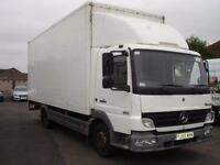 Mercedes Atego 815 20ft GRP Box with 1 tonne tail lift