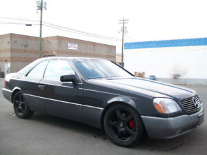 RARE MERCEDES S500 COUPE! FULLY LOADED LUXURY PERFORMANCE $7500!