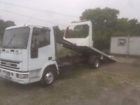 Vehicle recovery and breakdown service
