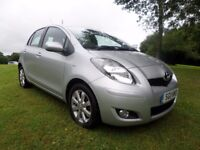 TOYOTA YARIS 1.4D-4D T SPIRIT*£20TAX*FINANCE AVAILABLE*5 DOOR*