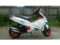 Gilera runner 50cc with 70 kit runs great fast scooter moped drive away