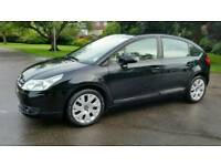 £30 ROAD TAX +DIESEL+ GLASS ROOF+CITROEN C4 CACHET HDI+1.6cc+CRUIZE CONTRIL+SERVICE HISTORY+MOT 2018