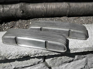 Vintage Chevrolet finned valve covers.  REDUCED PRICE!