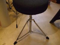 drum stool/and a fixed height music stool