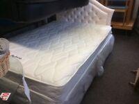 Double bed inc headboard