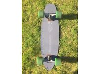 Flexdex c29 longboard skateboard, abec 11 gripins wheels