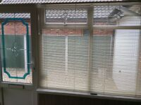 Porch and sun blinds - good condition