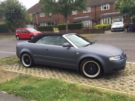Audi A4 cabriolet 1.8 T WRAPPED WITH BBS ALLOYS