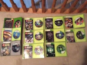 Various XBOX and XBOX 360 Games