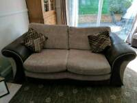 4 seater with extension,3 seater and storage footstool