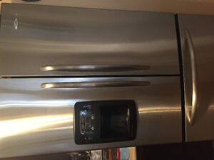 Maytag stainless steel refrigerator