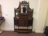 Dressing table shelving unit - Free local delivery