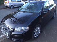 Audi A3 diesel black 2006