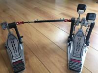 DW9000 double pedal