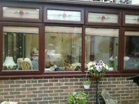 Conservatory with blinds for sale