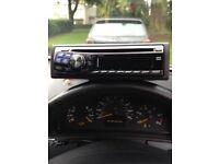 Alpine cd/MP3 car stereo